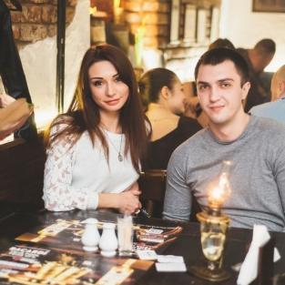 Valentines Day Питейный Дом ресторана РЪ 14.02.16