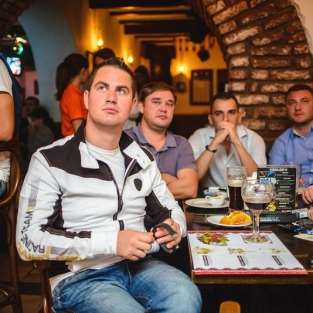 Football Party Днепр - Лацио 17.09.15