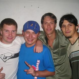Dj Berg & Dj Feel & Dj Borchick 06.08.2004