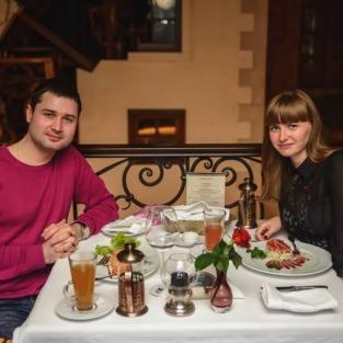 День Св. Валентина ресторан Репортеръ 14.02.16